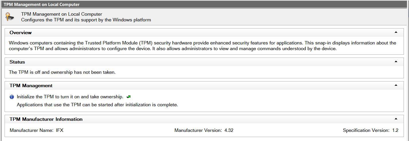 Potential vulnerability in Infineon TPM used in Toshiba